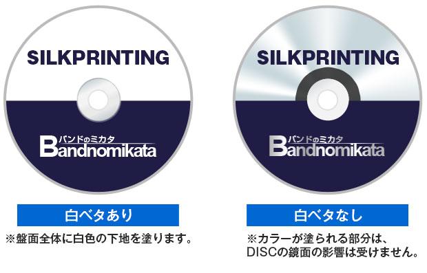 シルク印刷仕上がりイメージ